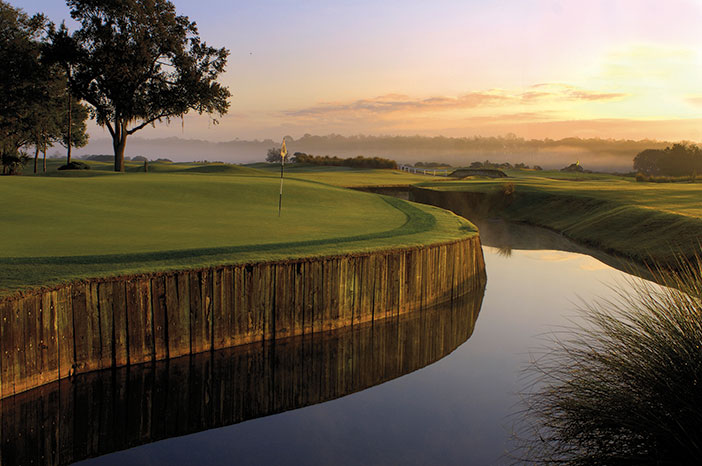Fairways create a tranquil oasis at Villas of Grand Cypress.