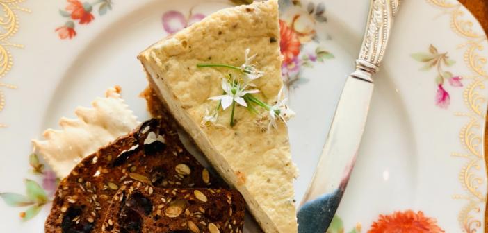 Instant Pot Savory Cheesecake