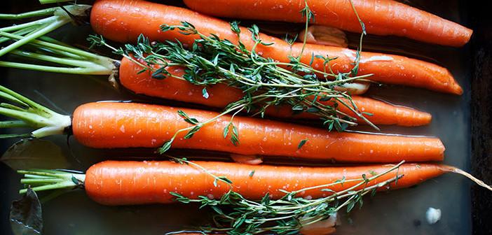 Digging Carrots