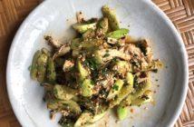 thai cucumber chicken salad